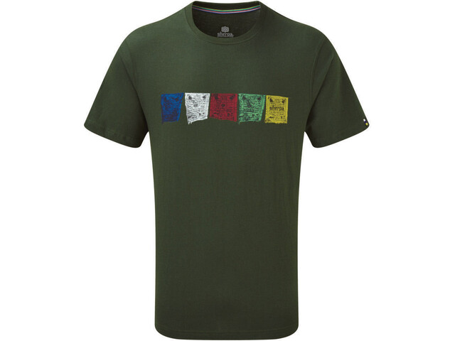 Sherpa Tarcho Tee Herren mewa green